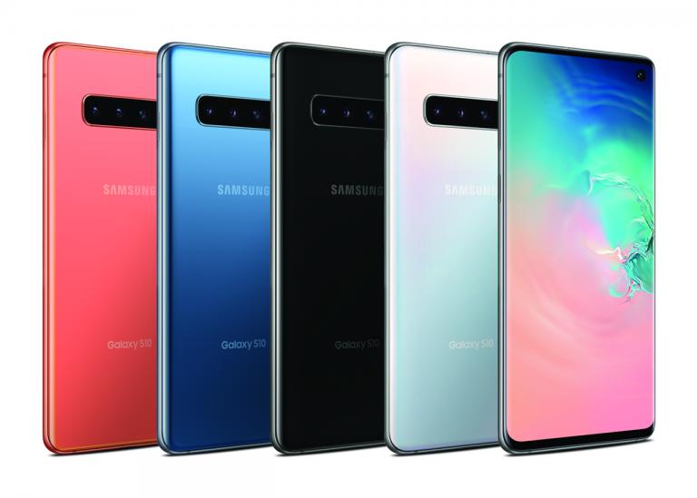 گوشی موبایل سامسونگ Galaxy S10 ظرفیت 128 گیگابایت