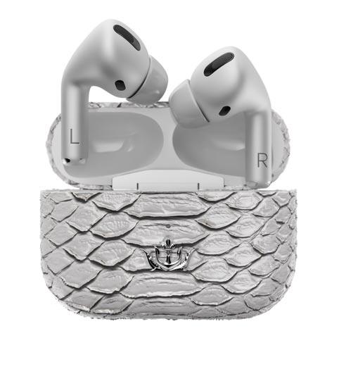 Airpods Pro سفید با چرم