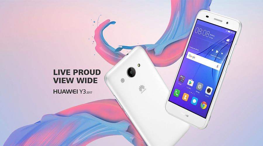 گوشی هوشمند Huawei Y3 2017
