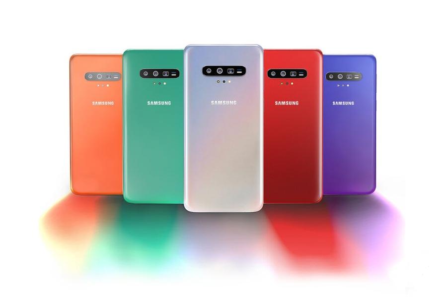 رنگ های گوشی S11