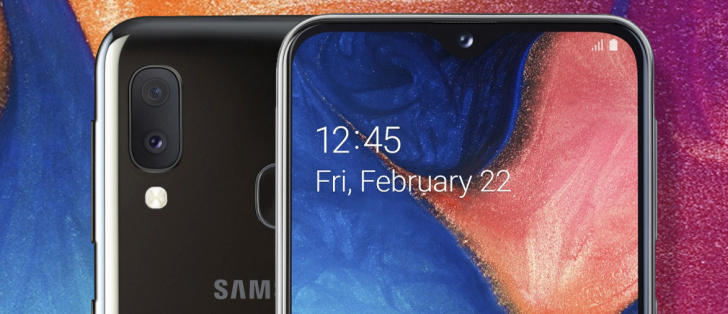 بهترین گوشی های سال 2019/Samsung Galaxy A20e