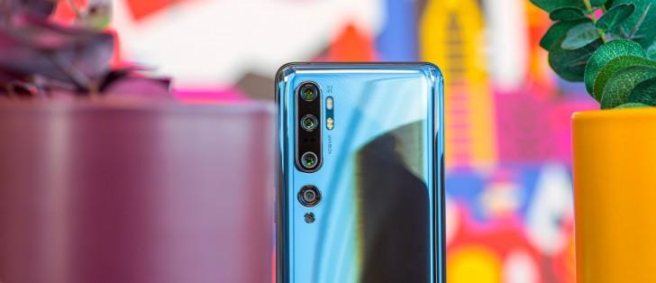 بهترین گوشی های سال 2019/Xiaomi Mi Note 10