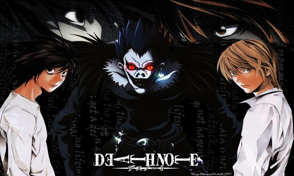 بهترین انیمه هایی که حتما باید ببینید/Death Note