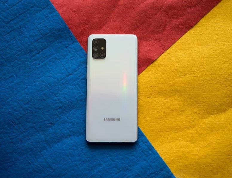 گوشی A71